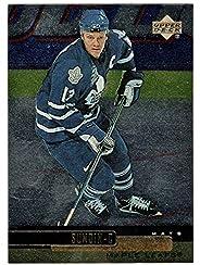 Mats Sundin - Toronto Maple Leafs (Hockey Card) 1999-00 Upper Deck Gold Reserve # 121 Mint