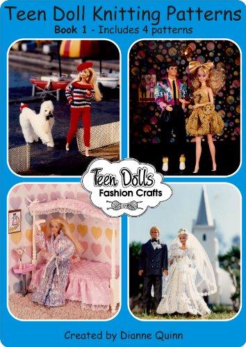 Fashion Doll Wardrobe Pattern - Teen Dolls Fashion Crafts Book One (Teen Dolls Fashion Crafts Complete Wardrobe 1)