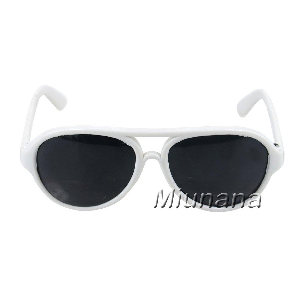 c/ámara tarjetas de juego Maleta gafas de sol horquilla Miunana 5 accesorios de vacaciones para mu/ñeca American Girl Dolls