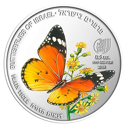 PLAIN TIGER 0.5OZ 999 50MM SILVER First in the
