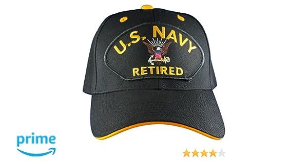 Amazon.com  US Navy Retired Hat  f2c6c6a95600