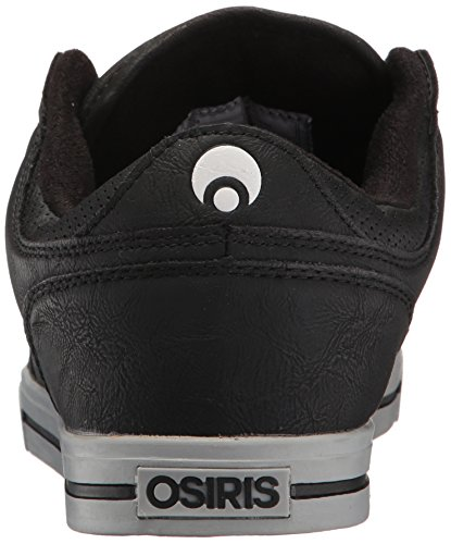Osiris Men's Protocol Skateboarding Shoe Black/Light Grey/White free shipping perfect high quality online discount wide range of Igrugi