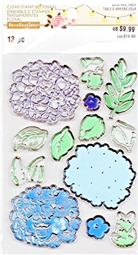 - Recollections Unmounted Clear Stamps, Layered Hydrangea