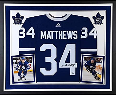 Auston Matthews Toronto Maple Leafs Deluxe Framed Autographed Blue Adidas  Authentic Jersey - Fanatics Authentic Certified 90f9a2aad