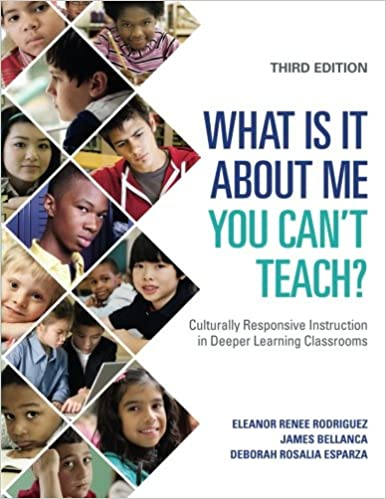 What Is It About Me You Cant Teach Culturally Responsive