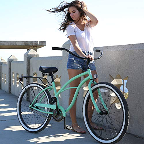 sixthreezero Single Speed Cruiser Women's Bike for Beginners