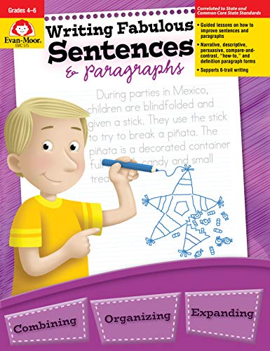 Writing Fabulous Sentences & Paragraphs, Grades 4-6 (Improve Writing Skills For Middle School Students)