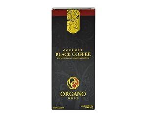 2 Boxes Organo Gold Gourmet Black Coffee - 60 Sachets