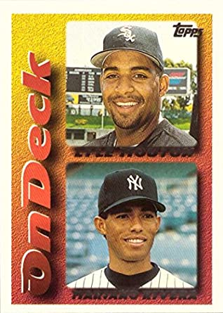 1995 Topps Traded And Rookies 130t Mariano Rivera Baseball Card His 1st Topps Card