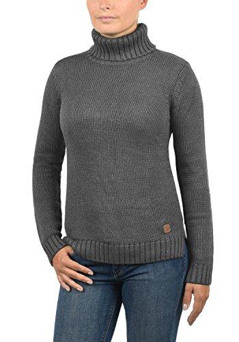 Desires Desires da da da Pia Melange 8236 Alto Maglione Collo Dolcevita Pullover in Grey Collo Maglia col con Donna Alto ASBArwzq