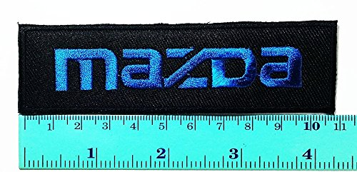 3 Patch Black Mazda Racing Patch