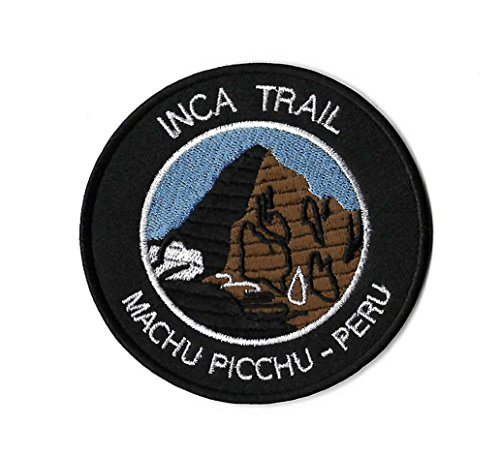 Inca Trail Machu Picchu Peru Iron on Patch / 3.5 Inch Embroidered Trekking Badge