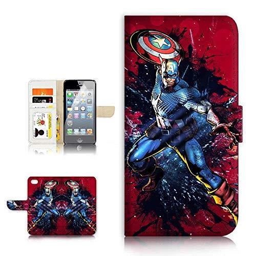 with Captain America Phone Cases design