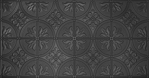 Global Specialty Products 309-06 Traditional Tin Style Panels For Glue-Up Installation, Matte (Metal Ceiling Medallions)