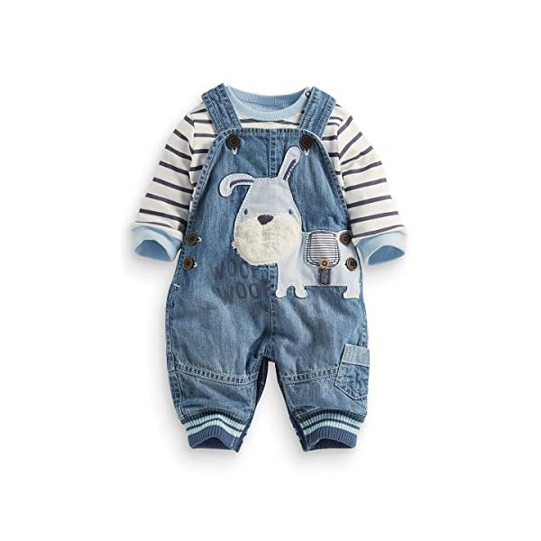 LvYinLi Cute Baby Boys Clothes Toddler Boys' Romper Jumpsuit Overalls Stripe...