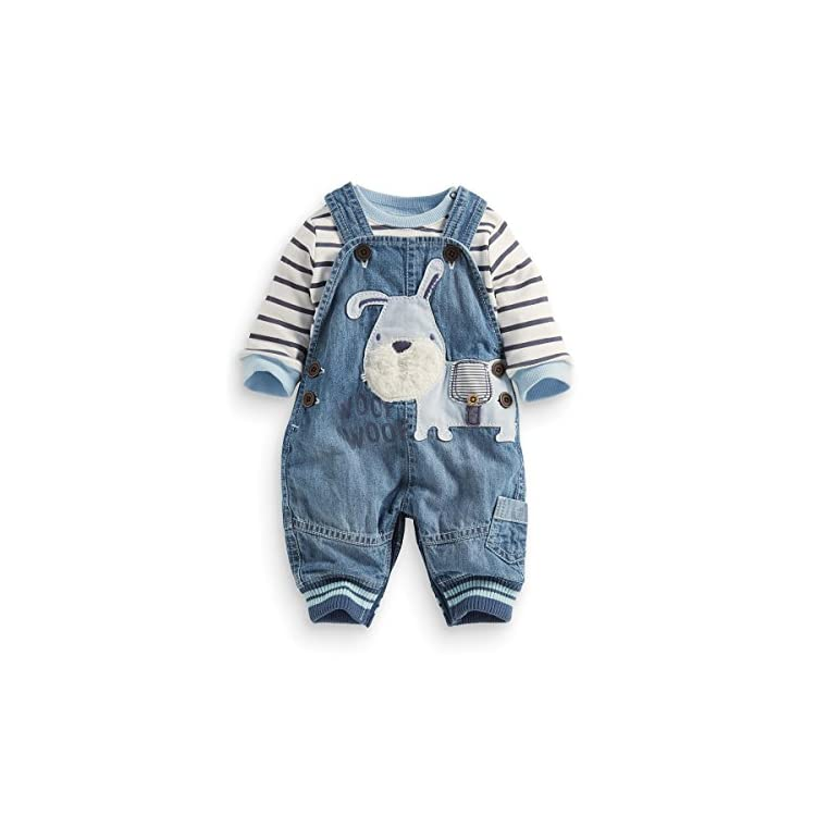 4118428f7 Cute Baby Boys Clothes Toddler Boys' Romper Jumpsuit Overalls Stripe  Rompers Sets