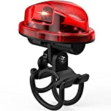 BRECHYSE Rechargeable Waterproof LED Bike Light – Bright Red Front Back, Rear Safety Taillight Headlamp Mount for Bicycle Night Riders – Safe, Secure, Easy Screw on Clamp Multi Mode Headlight Review
