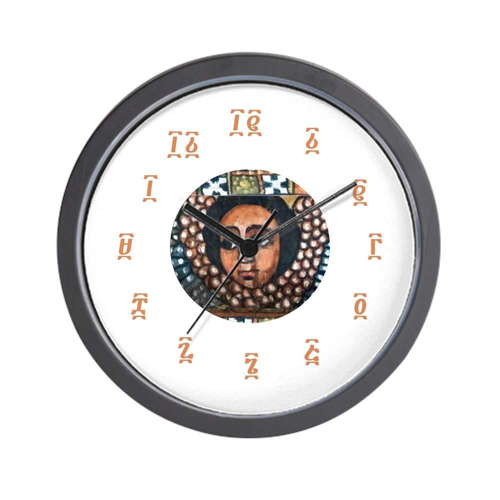 CafePress-Ethiopian Orthodox-Wall Clock