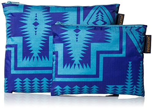 UPC 094508555148, Pendleton Women's 2 Pack Zip Pouch Accessory, -harding royal, One Size
