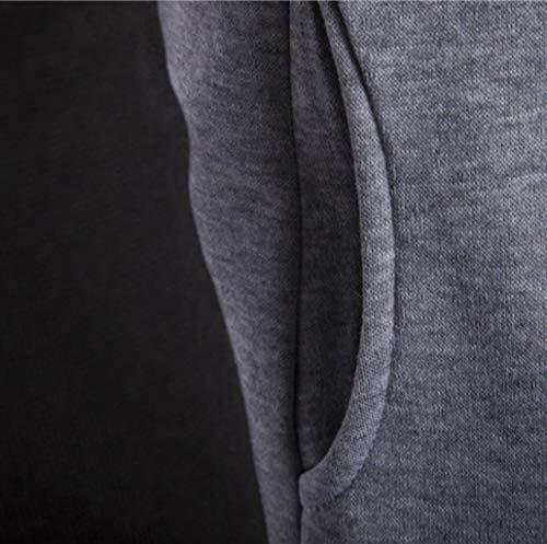 Hiver Manteau Gris Tops Homme Sweat Covermason Manches Sweat Veste Épais Chaud Capuche Hoodie À shirt Pulls Longues aRxw7gqvpa