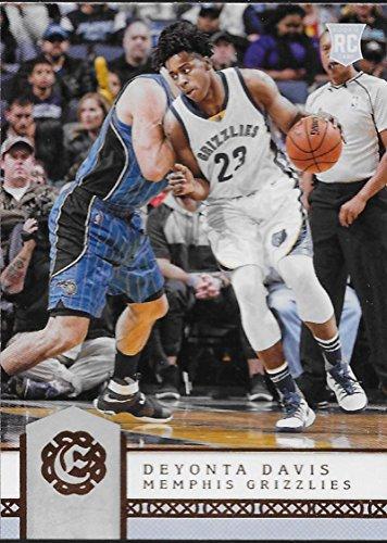 2016-17 Excalibur #86 Deyonta Davis Grizzlies