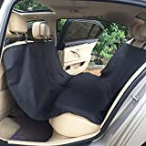 Cheap TAKOYI Dog Car Seat Cover, Waterproof Pet Back Seat Cover for Car, Durable Machine Washable Scratch Hammock Pet Seat Cover Black