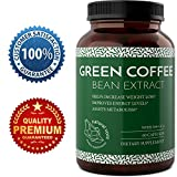 Green Coffee Bean Natural and Potent Weight Loss Pills for Men and Women, Burn Belly Fat, Metabolism Booster and Powerful Antioxidant with Pure Green Coffee Bean Extract by Bio Sense