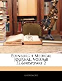 Edinburgh Medical Journal, Anonymous, 1143545001