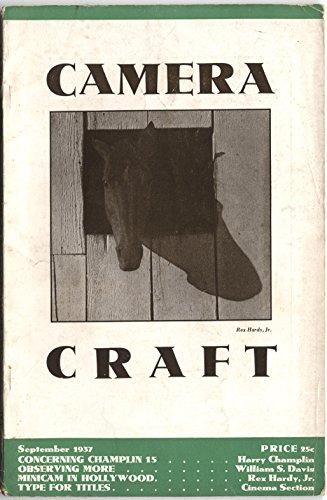 - Camera Craft Magazine September 1937