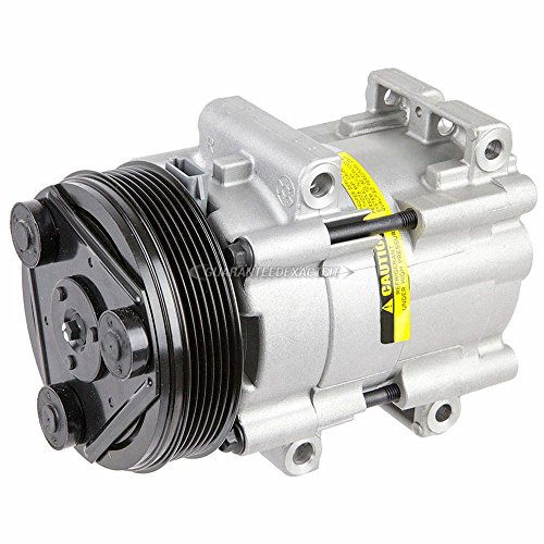 Ford Windstar Air Conditioning (New Premium Quality AC Compressor & A/C Clutch For Ford Truck Bronco & Mustang - BuyAutoParts 60-01255NA New)