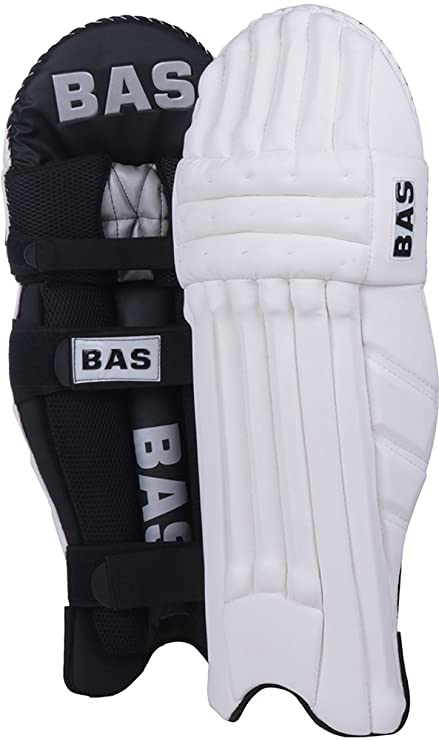 Buy Bas Player Men S Mesh Cricket Batting Pads Size Men Black Online At Low Prices In India Amazon In