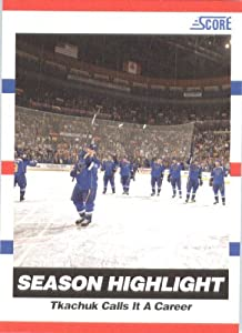 2010 /11 Score Hockey Card # 23 Keith Tkachuk St. Louis Blues
