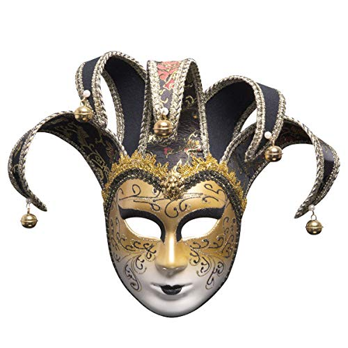 (EnjoCho❤️❤️☛☛Venice Masks Women Party Mask Festive Supplies Masquerade Mask Christmas Halloween Venetian Costumes Carnival Anonymous Masks)