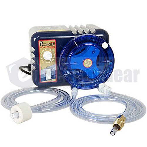 Rola-Chem 543702 RC103SC Chemical Feed Pump, 38 GPD, 120V Cord