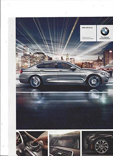 MAGAZINE ADVERTISEMENT For 2013 Silver BMW 528i Sedan (Bmw Sedan 528i)