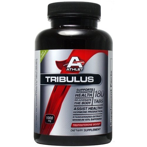 ATHLET TRIBULUS 1000 mg 180 ESSAI TABS TESTOSTERONE booster de libido SAPONINES 45%