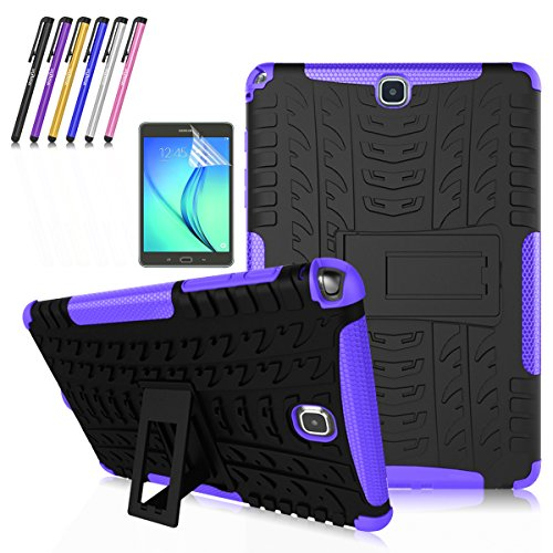 Windrew Heavy Duty Protective Shock Proof [Anti Slip] [Built-In Kickstand] Cover Skin Case For Samsung Galaxy Tab A 9.7