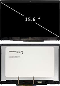 """FIRSTLCD LCD Touch Screen Replacement L20825-001 L20822-001 for (HP) Pavilion X360 15-CR0037WM 15-CR0053WM 15-CR0010NR 15-CR0011NR (Support Stylus) Digitizer Display Assembly 15.6"""""""