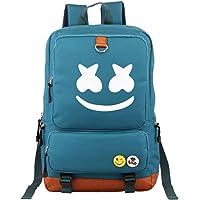 StMandy Marshmallo Mochila Unisex Fashion College School Bookbag Mochila de Viaje DJ Marshmello Laptop Backpack-3
