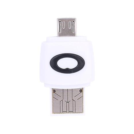 Macho Micro USB 2.0 OTG Adaptador de Lector de Tarjetas ...