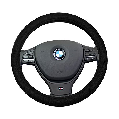 al 15 Inch Steering Wheel Cover Polyester/Mesh Protection Breathable Auto Steering Wheel Cover ()