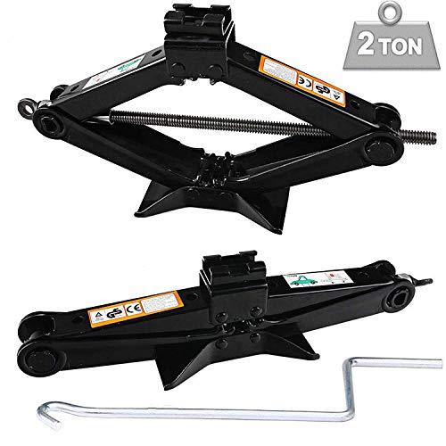 Amazon.com: ZhanGe 2 Tonne Rustproof Car Scissor Floor Lift Car Jacks Speed Chromed Crank Handle Vauxhall/Corsa /Astra/Zafira/Insignia/Meriva(4.2-15 Inch) ...