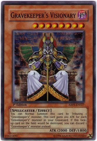 Yu-Gi-Oh! - Gravekeeper's Visionary (ABPF-EN027) - Absolute Powerforce - Unlimited Edition - Super Rare
