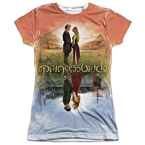 The Princess Bride Poster Sub (Front Back Print) Juniors Sublimation Shirt MD