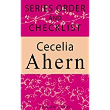 Cecelia Ahern Series Order and checklist: P.S I love you, A place called here, A book of Tomorrow and more