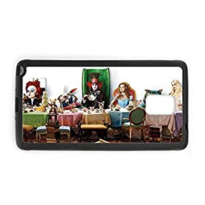 Printing Alice In Wonderland For Samsung Note4 Tpu Thin Back Phone Case For Teens Choose Design 2