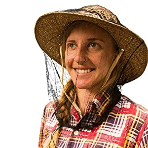 MEKKAPRO Mosquito Head Net | No-See-Um Bug & Insect Repellent Netting | Fly Screen Protection for Outdoors | Garden Fishing Camping Hiking