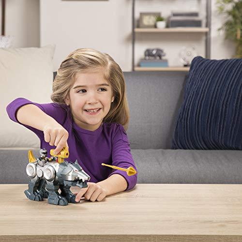 Playskool Heroes Power Rangers Silver Ranger & Wolf Zord 2 Pack