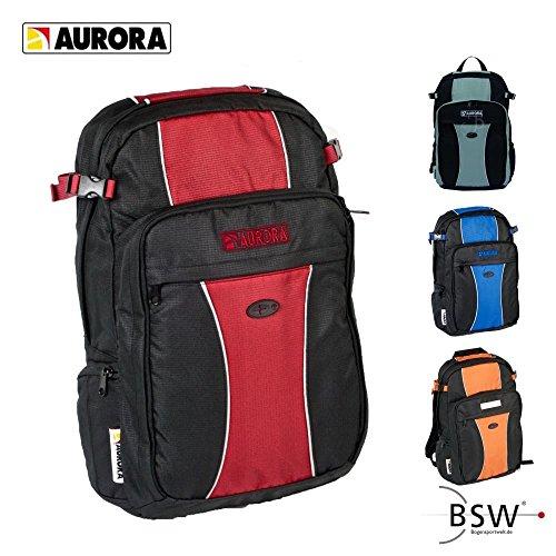 AURORA Archery - Rucksack schwarz/orange
