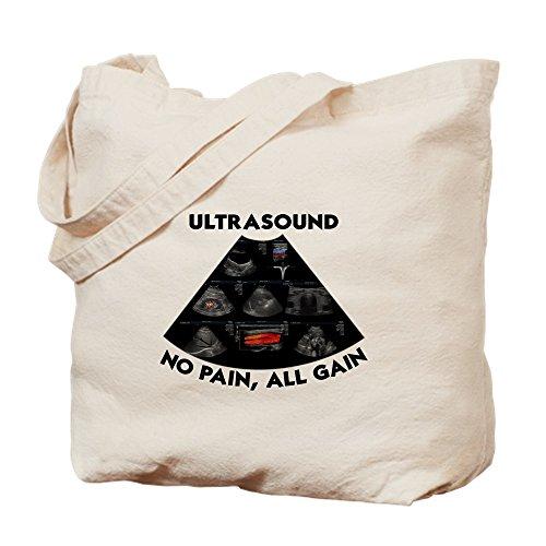 CafePress–Ultrasonidos _ T–Gamuza de bolsa de lona bolsa, bolsa de la compra
